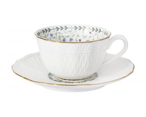 Чашка с блюдцем Грация