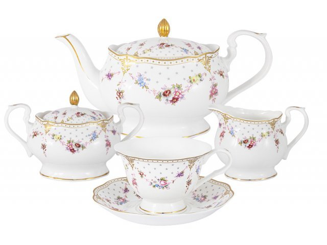Чайный сервиз из 15 предметов на 6 персон Ла-Рошель