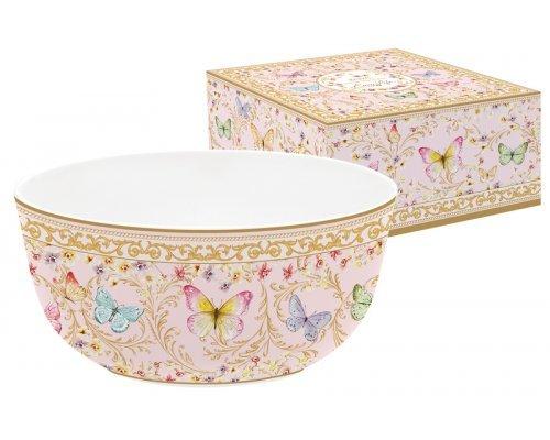 Салатник (розовый) Majestic в подарочной упаковке