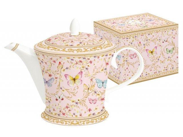 Чайник (розовый) Majestic в подарочной упаковке