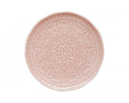Тарелка закусочная (розовый) Abitare без индивидуальной упаковки