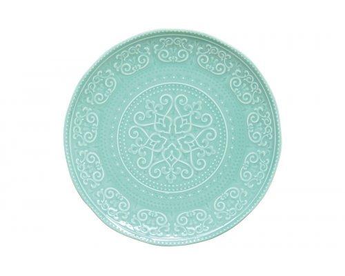 Тарелка обеденная (мятный) Abitare без индивидуальной упаковки