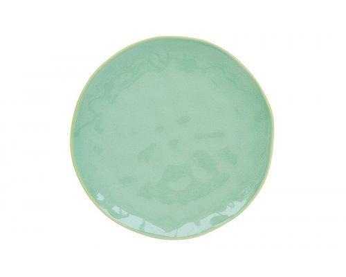 Тарелка обеденная (мятный) Interiors без индивидуальной упаковки