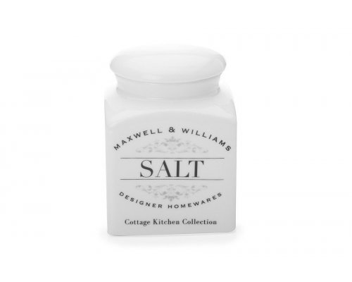 Банка для сыпучих продуктов (соль) Cottage Kitchen Maxwell & Williams в подарочной упаковке