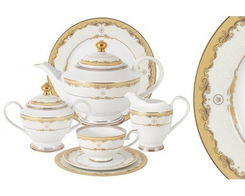 Чайный сервиз Корона Midori 42 предмета на 12 персон