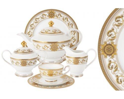 Чайный сервиз Эрмитаж Midori 42 предмета на 12 персон