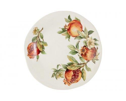 Тарелка обеденная Гранат Julia Vysotskaya без индивидуальной упаковки