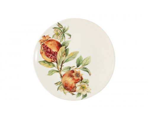 Тарелка салатная Гранат Julia Vysotskaya без индивидуальной упаковки