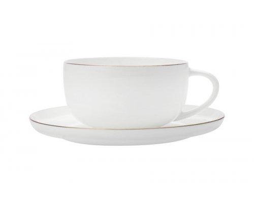Кофейная чашка с блюдцем Кашемир Голд Maxwell & Williams без индивидуальной упаковки