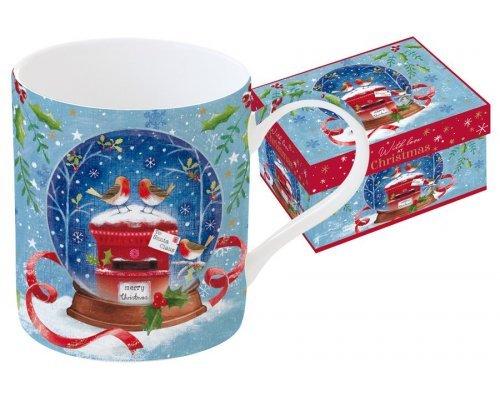 Кружка Новогодняя сказка. Малиновка Easy Life R2S в подарочной упаковке