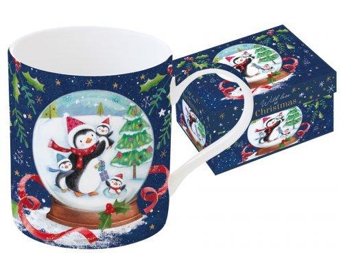 Кружка Новогодняя сказка. Пингвины Easy Life R2S в подарочной упаковке