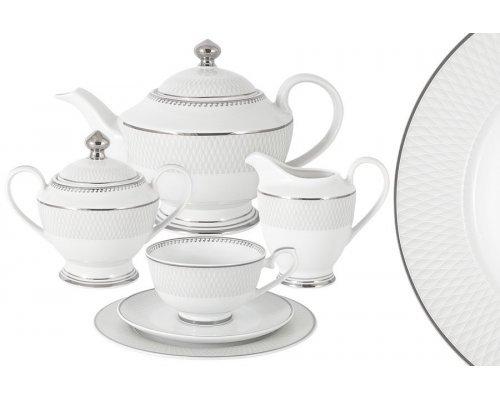 Чайный сервиз Эдельвейс 23 предмета на 6 персон