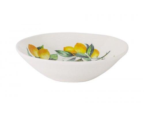 Тарелка суповая Лимоны Julia Vysotskaya без индивидуальной упаковки