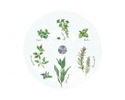 Блюдо стеклянное (вращающееся) Herbarium Easy Life (R2S) в подарочной упаковке