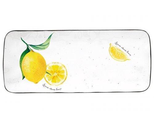 Блюдо прямоугольное Amalfi Easy Life (R2S) в подарочной упаковке