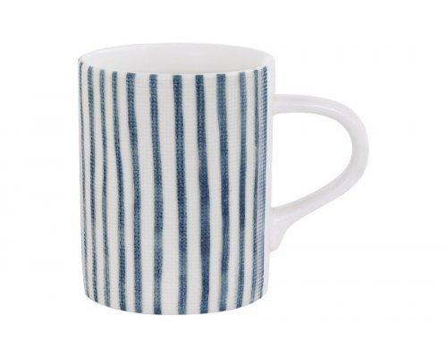 Кружка (белый с синими полосками) Бриз Easy Life (R2S) без индивидуальной упаковки