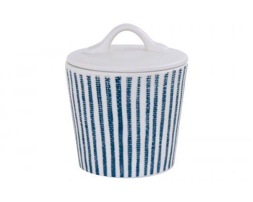 Сахарница (белый с синими полосками) Бриз Easy Life (R2S) без индивидуальной упаковки