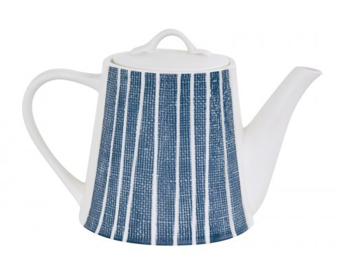 Чайник (синий с белыми полосками) Бриз Easy Life (R2S) в инд.упаковке