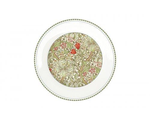 Тарелка закусочная (зелёный) Уильям Моррис Easy Life (R2S) 19 см без индивидуальной упаковки