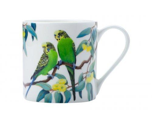 Кружка Maxwell & Williams Волнистые попугаи в подарочной упаковке