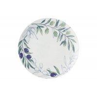 Тарелка обеденная Оливковая роща Casa Domani 26,5см. без индивидуальной упаковки