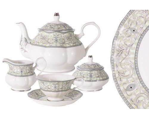 Чайный сервиз из 15 предметов на 6 персон Жозефина Colombo