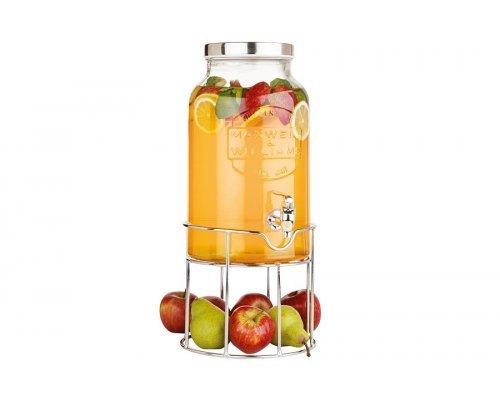 Диспенсер для напитков 5,6 л на подставке в подарочной упаковке