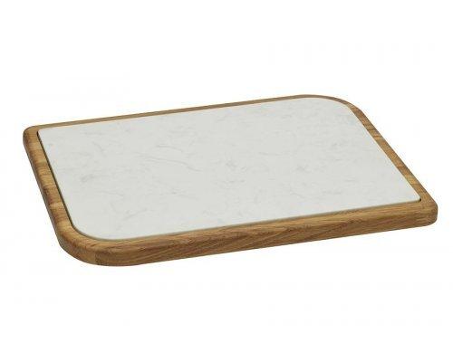 Доска разделочная для сыра, дуб, 37х28 см