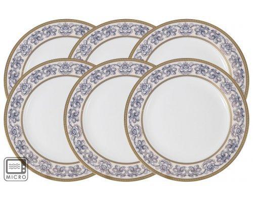 Набор закусочных тарелок Престиж Anna Lafarg Emily 20,5 см 6 шт
