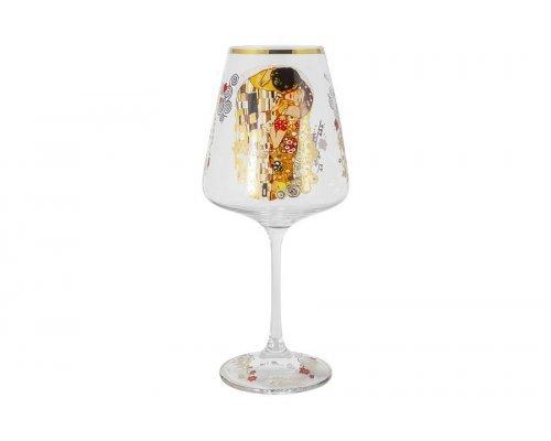 Бокал для вина Поцелуй (Густав Климт) Carmani 0,5 л