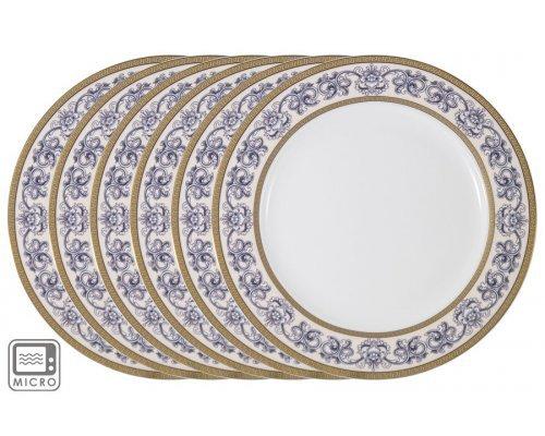Набор обеденных тарелок Престиж Anna Lafarg Emily 26 см 6 шт