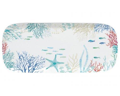 Блюдо прямоугольное Море Easy Life 40х17,5 см