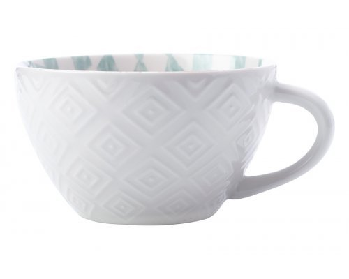 Суповая чашка Alhambra, красно-зеленая, 13 см, 0,54 л