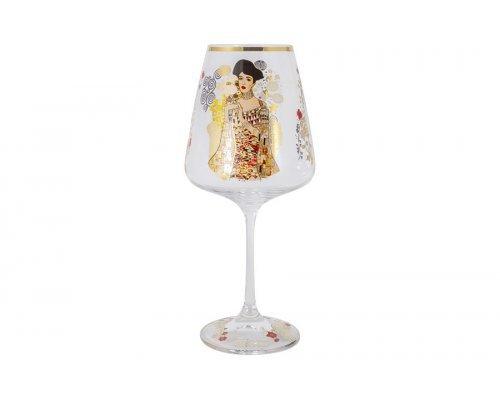 Бокал для вина Адель (Густав Климт) Carmani 0,5 л