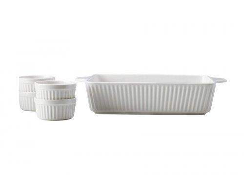Набор для запекания: блюдо + 4 рамекина Radiance Maxwell & Williams