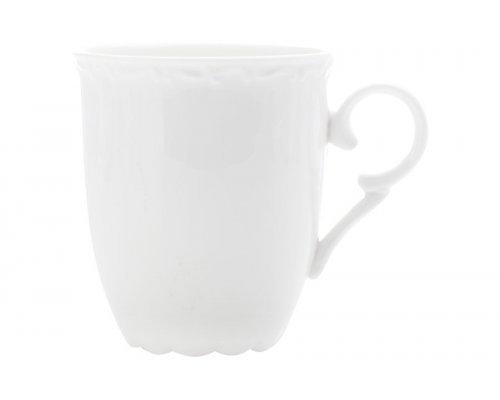 Белая фарфоровая кружка Florence, 0,35 л