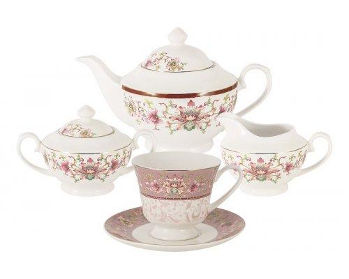 Чайный сервиз Арабеска на 6 персон 15 предметов