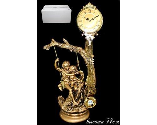 Часы Lenardi декоративные настольные 77см. Полистоун