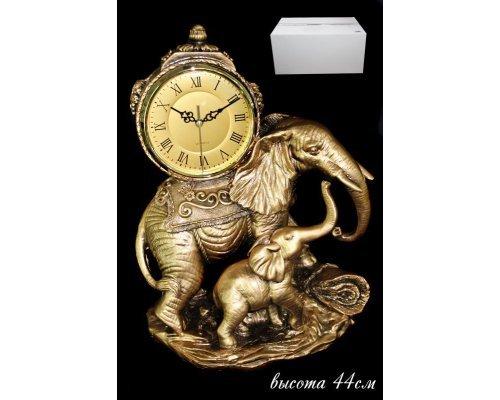 Часы Lenardi декоративные настольные 44см. Полистоун