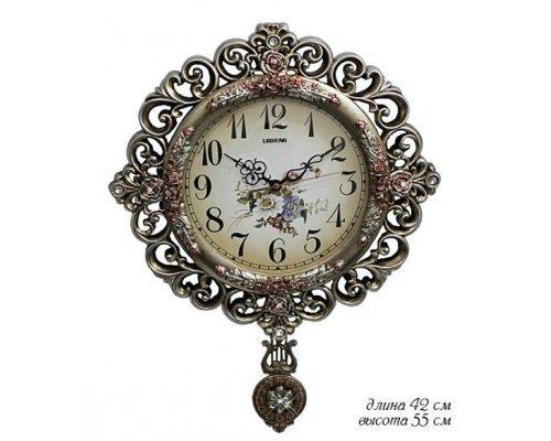 Часы Lenardi настенные в подарочной упаковке Полистоун