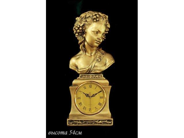 Часы Lenardi декоративные настольные 54см. Полистоун