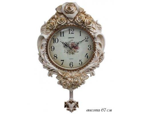 Часы Lenardi настенные Полистоун