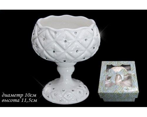 Креманка 10см. в подарочной упаковке Lenardi Северное сияние Керамика