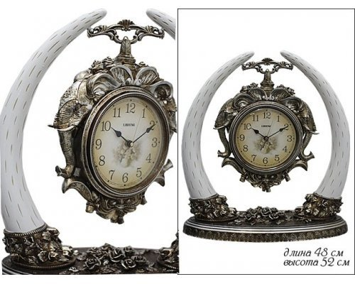 Часы Lenardi настольные в подарочной упаковкеПолистоун