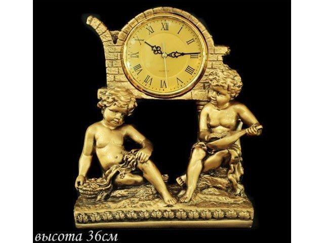 Часы Lenardi декоративные настольные 36см. Полистоун
