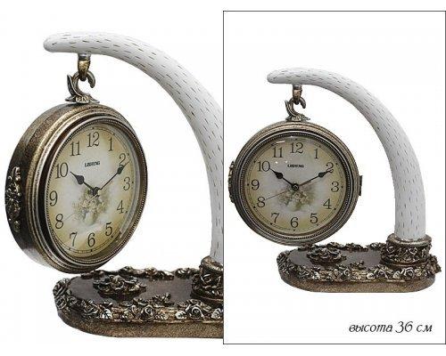 Часы Lenardi настольные Полистоун