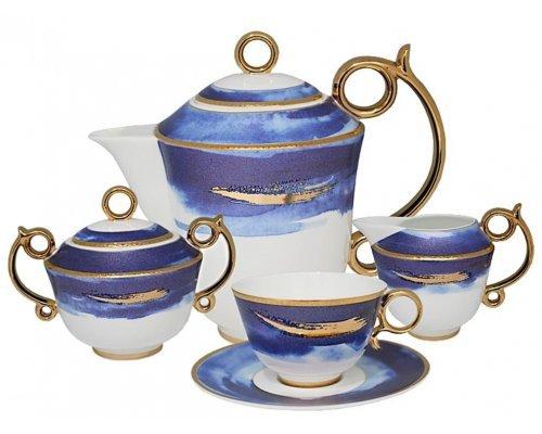 Чайный сервиз Океан Lenardi на 6 персон 15 предметов