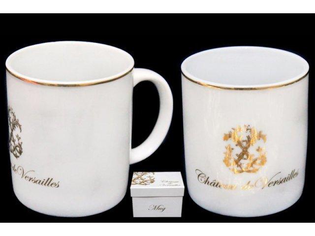 Кружка Lenardi Версаль в подарочной упаковке 350мл. Фарфор