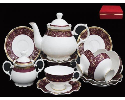 Чайный сервиз Lenardi Великолепный век на 6 персон 16 предметов в подарочной упаковке