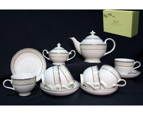 Чайный сервиз Lenardi Элегант на 6 персон 16 предметов